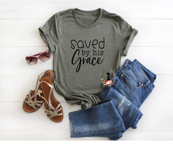 Saved by His Grace - SKC Boutique