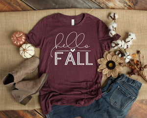 Hello Fall Tee - SKC Boutique