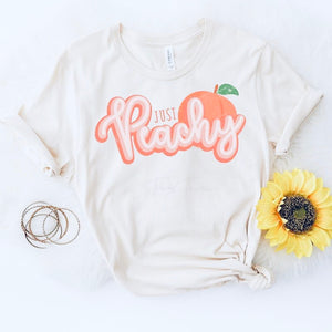 Just Peachy Tee - SKC Boutique