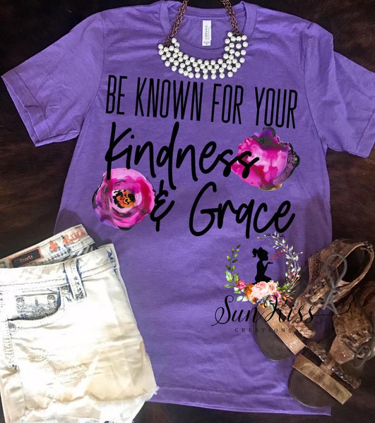 Be Known For Your Kindness & Grace - SKC Boutique