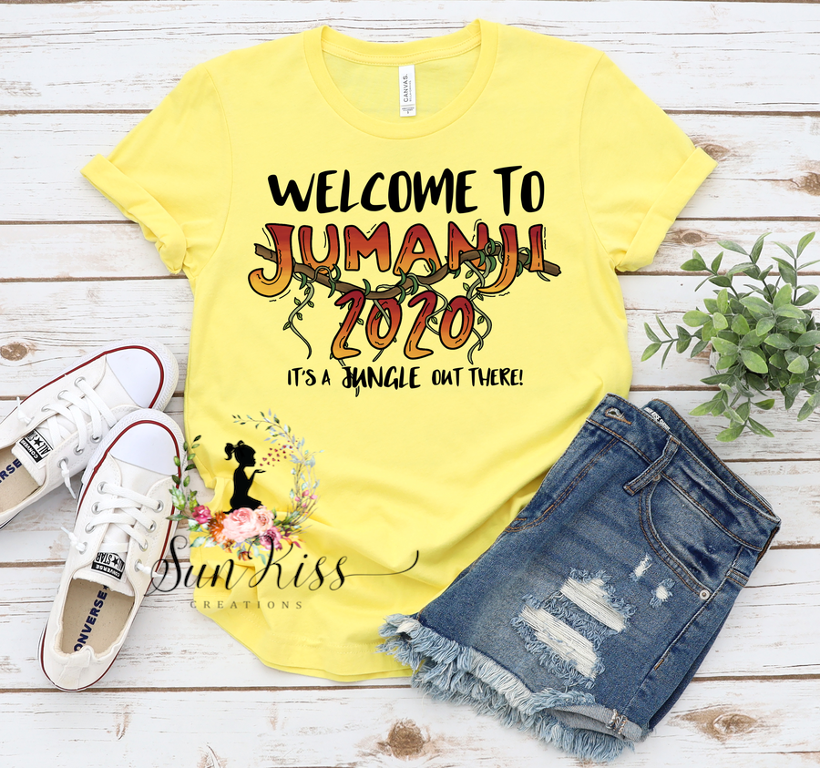 Welcome To Jumanji Tee - SKC Boutique