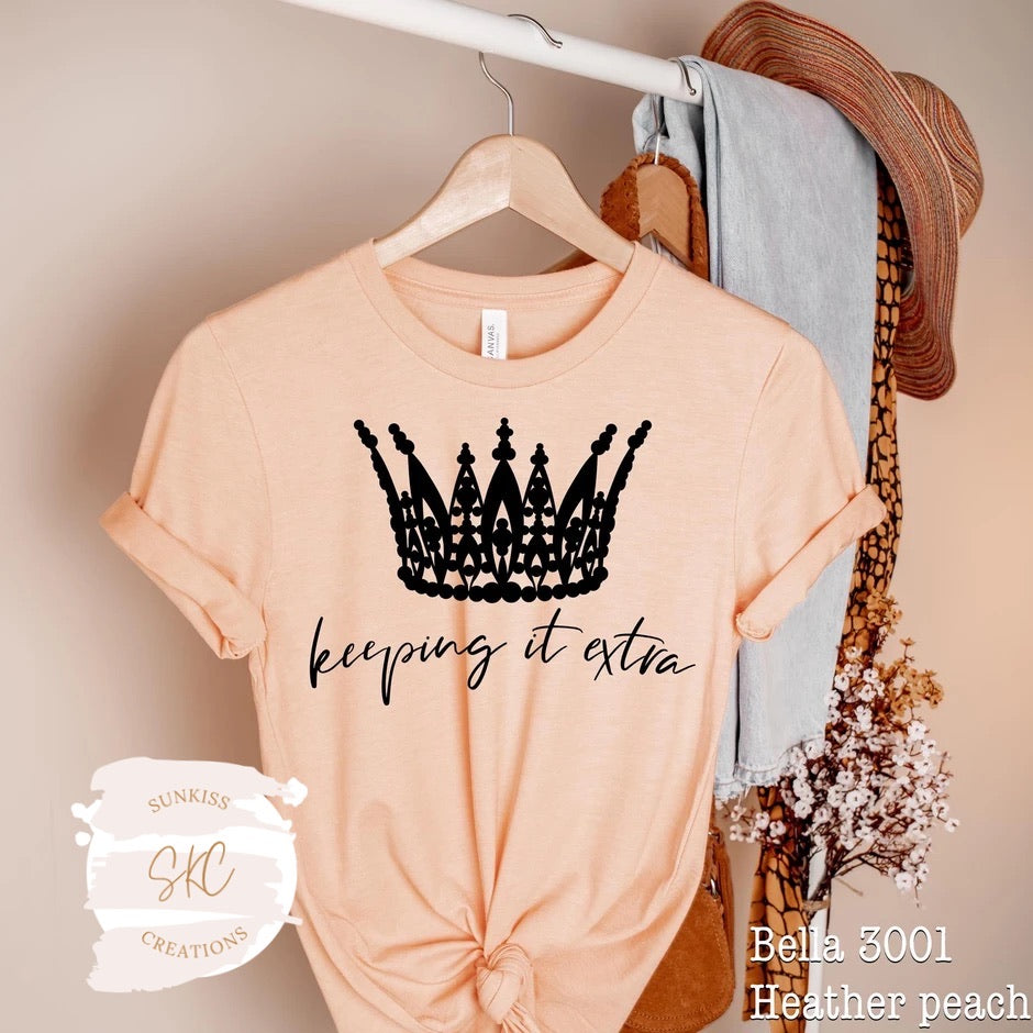 Keeping It Extra Tee - SKC Boutique