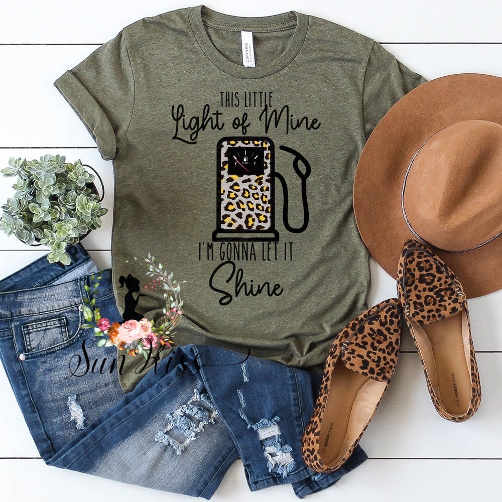 This Little Light Of Mine Tee - SKC Boutique