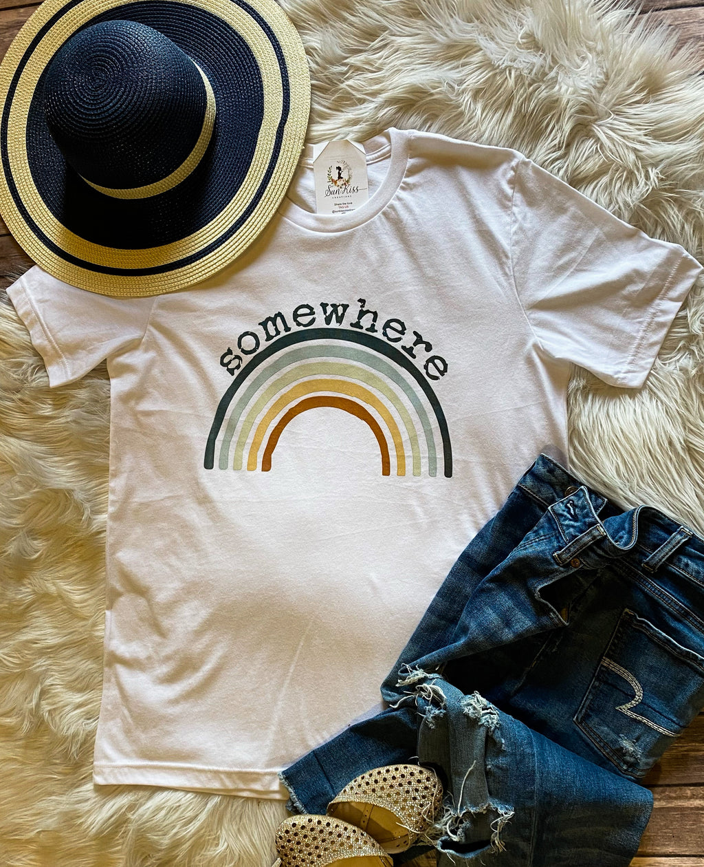 Somewhere Tee - SKC Boutique