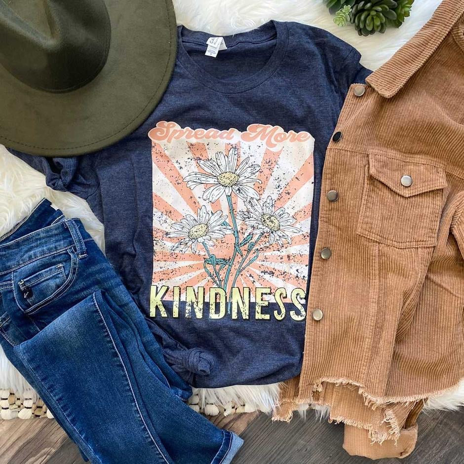Spread More Kindness Tee - SKC Boutique
