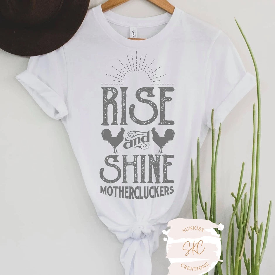Rise and Shine Tee - SKC Boutique