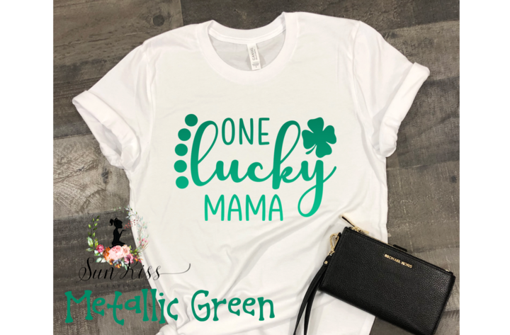 One Lucky Mama Tee - SKC Boutique
