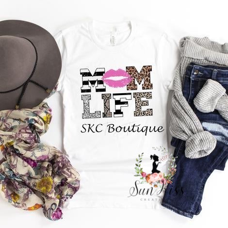 Mom Life Tee - SKC Boutique