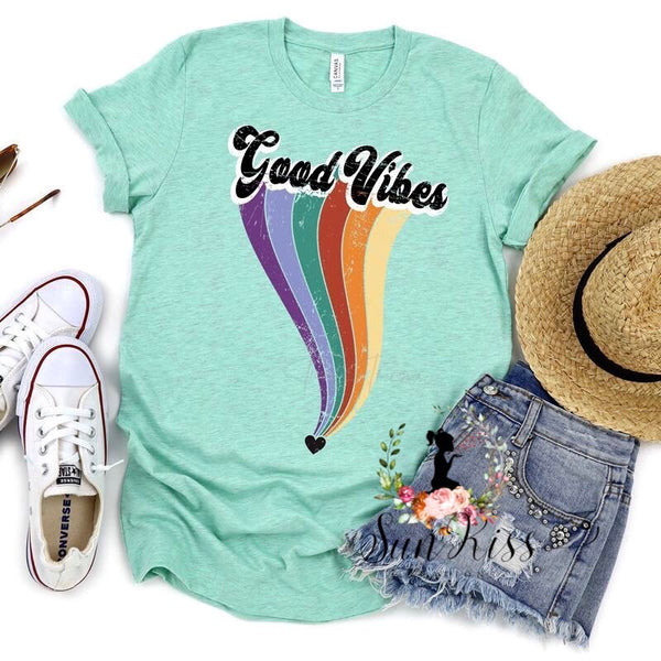 Good Vibes Tee - SKC Boutique