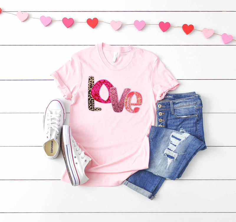 Love Shabby Chic Tee - SKC Boutique