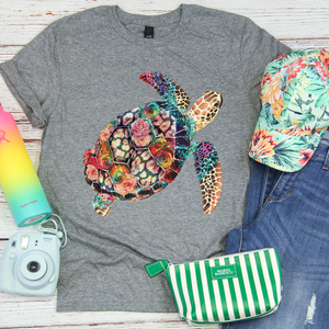 Multicolor Sea Turtle Tee - SKC Boutique