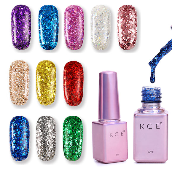 New Fashion Professional UV Gel Nails Polish Colors Nail Art Decoration Waterproof Glitter Red UV Gel Nail Polish