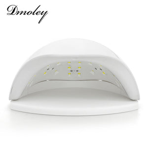 Dmoley SUN5X 48W UV LED Lamp Nail Dryer UV Nail Lamp Double light Sensor LED Nail Lamp Manicure Machine for Curing UV Gel Polish