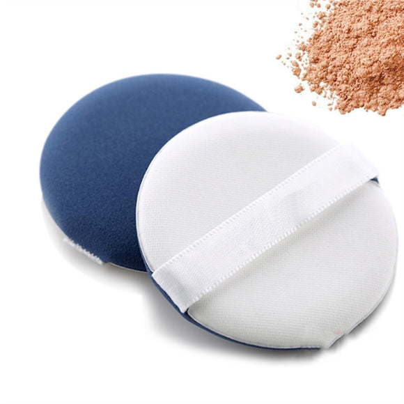Makeup Facial Powder Puff Cosmetics Blush Applicators Round Foundation Face Puff