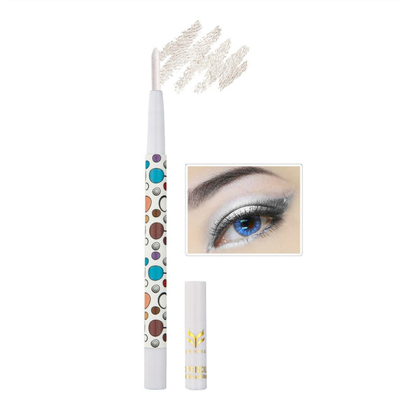 Eyeshadow Pencil Shimmery Pearl Light Eyeliner Pen for Big Eye Makeup