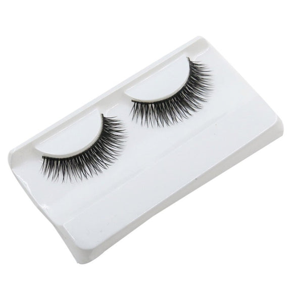 Natural Beauty  Dense A Pair False Eyelashes