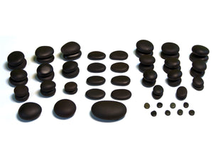59 Piece Premium Therapy - Basalt Massage Set