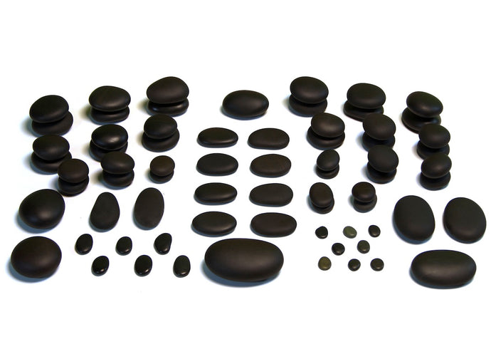 71 Piece Ultra Therapy - Basalt Massage Set