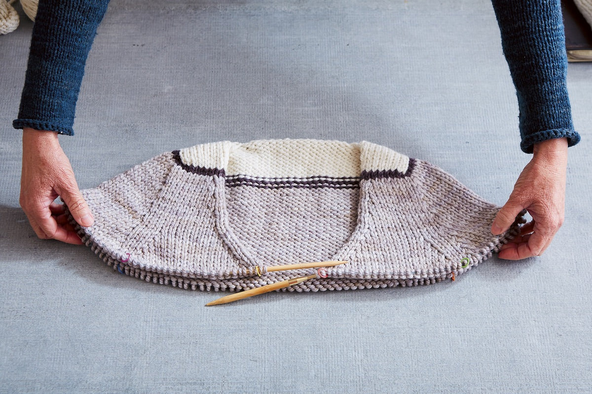 Cocoknits Method Sweater Yoke