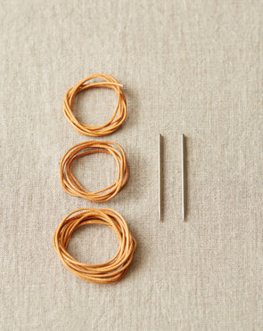 Leather Cord and Needle Stitch Holder Kit [bundle of 10]