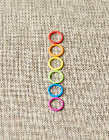 Colored Ring Stitch Markers - Original [bundle of 10]
