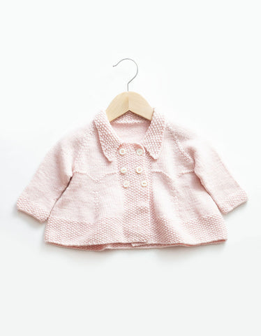 Baby Pink Coat Knit Pattern