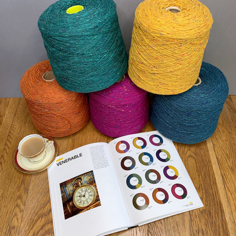 Donegal merino wool helps us to create beautifully soft garments
