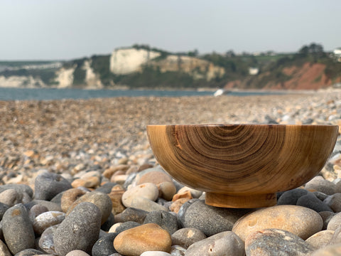 A bowl by Swiftwood Turnings