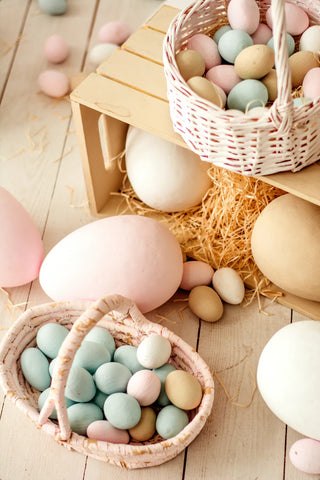 Easter celebrations don't need to include lots of packaging. Picture credit: Unsplash