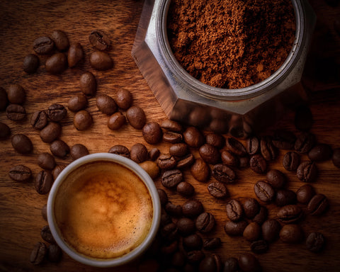 After each drink, we have the coffee grounds to account for. Picture credit: Janko Ferlic on Unsplash