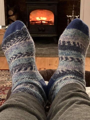 Swizzle Socks keep your feet warm