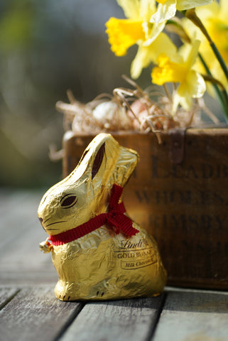 We have aimed to buy Easter gifts that use less packaging this year. Picture credit: Lin Coley