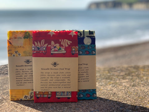 Our beeswax wraps are made with products from sustainable sources