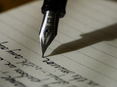 It's stylish to write by hand. Picture credit: Aaron Burden on Unsplash