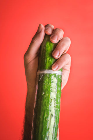 Wrapping cucumbers in plastic extends shelf life but that just adds to the complicated picture. Photo by Scott Sanker on Unsplash