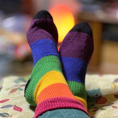 Rainbow socks - Swizzle and friends