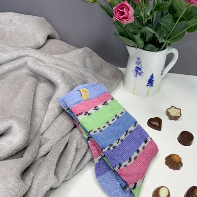 Spring Pastel Socks - Swizzle and friends