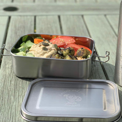Stainless steel leak resistant lunchbox - Swizzle and friends