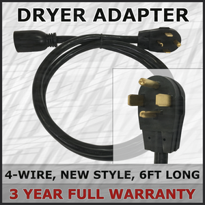 4-Wire New Dryer Adapter