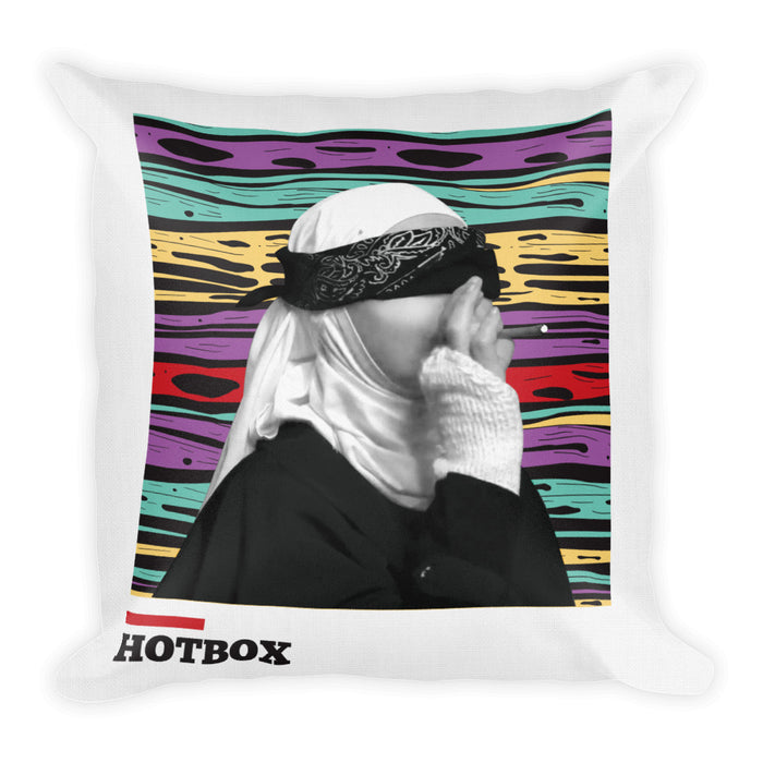 Smoking Nun Pillow