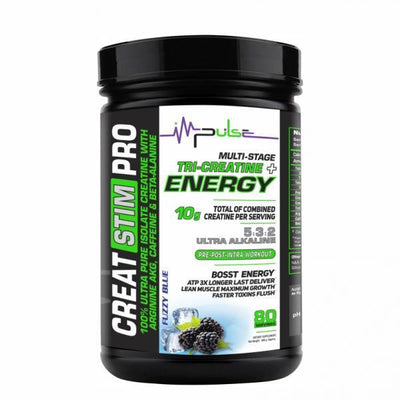 Creat Stim PRO in Fuzzy Blue Flavor | The Good Protein