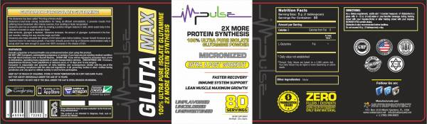 Gluta Max Isolate L-Glutamine (Unflavored) | The Good Protein