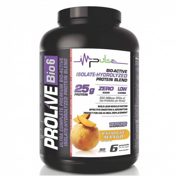 Prolive Bio6 Bioactive Protein in Batido de Mango Flavor (6.0 Lbs.) | The Good Protein