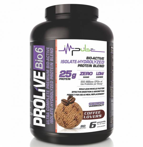Prolive Bio6 Bioactive Protein for Coffee Lovers (6.0 Lbs.) | The Good Protein