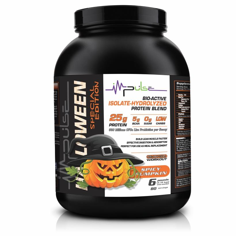 Prolive Bio6 Bioactive Protein in Spicy Pumpkin Flavor (6.0 Lbs) Special Edition- (1 Lb. For Free) | The Good Protein