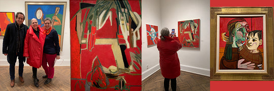 An evening of art, family and Francoise Gilot at the Elkon Gallery