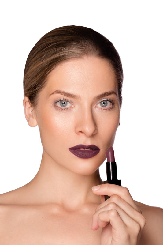 Creamy Semi Matte Lipstick - Fierce Purple