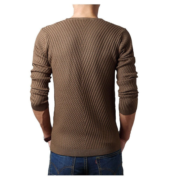 CASHMERE WOOL SWEATER (4 COLORS)