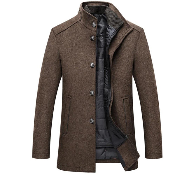 CHOOSEN ALAN WARM WOOL COAT