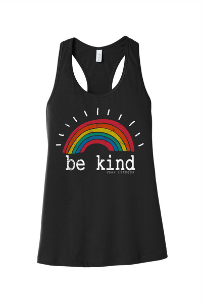 Peak Fitness Be Kind Women's Racerback Tank